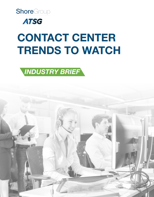 Contact Center Trends to Watch Industry Brief Cover Page